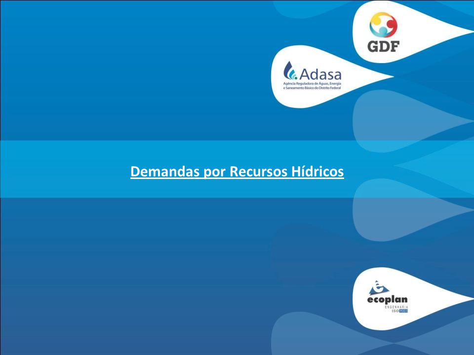 Demandas por Recursos Hídricos