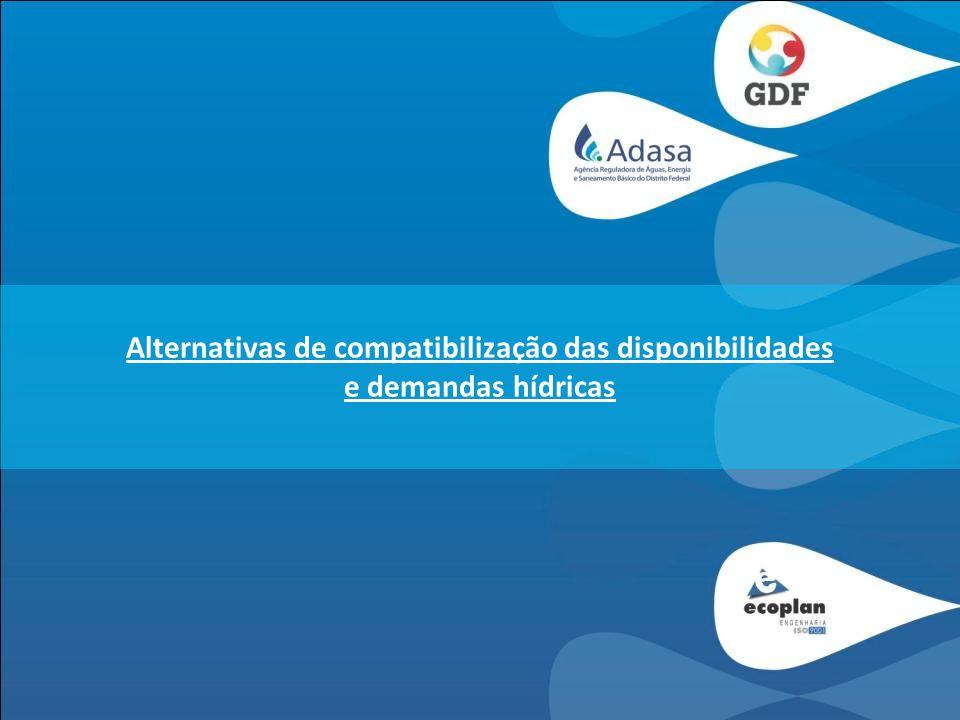 Alternativas de compatibilização das disponibilidades