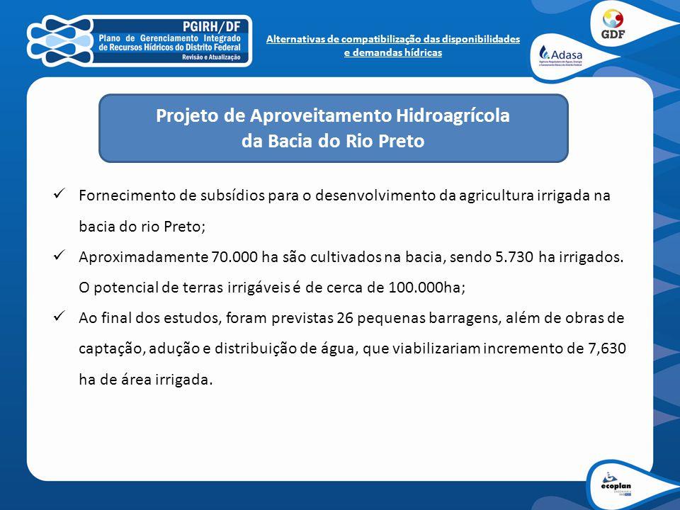 Projeto de Aproveitamento Hidroagrícola da Bacia do Rio Preto