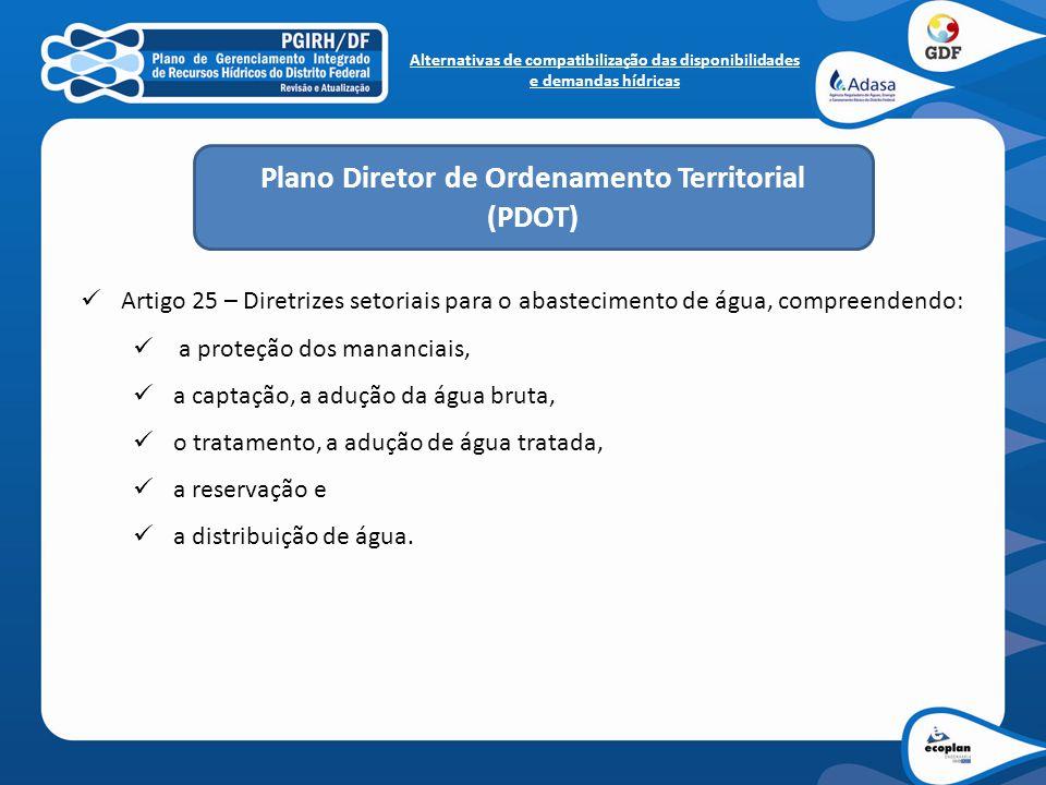 Plano Diretor de Ordenamento Territorial (PDOT)