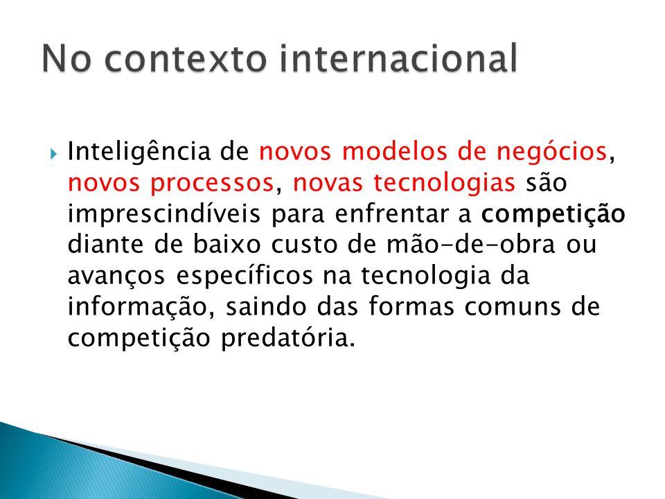 No contexto internacional