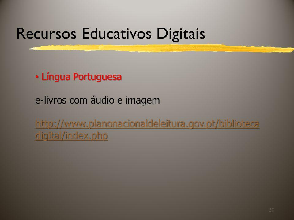 Recursos Educativos Digitais