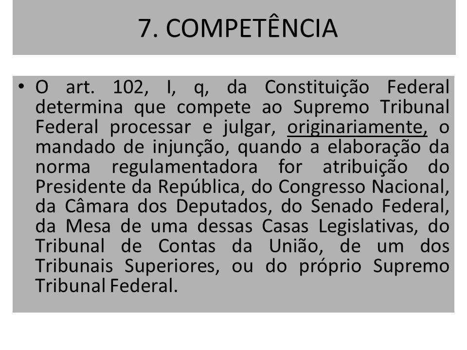 7. COMPETÊNCIA