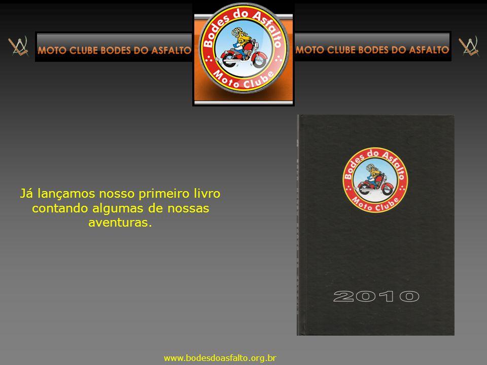 Já lançamos nosso primeiro livro contando algumas de nossas aventuras.