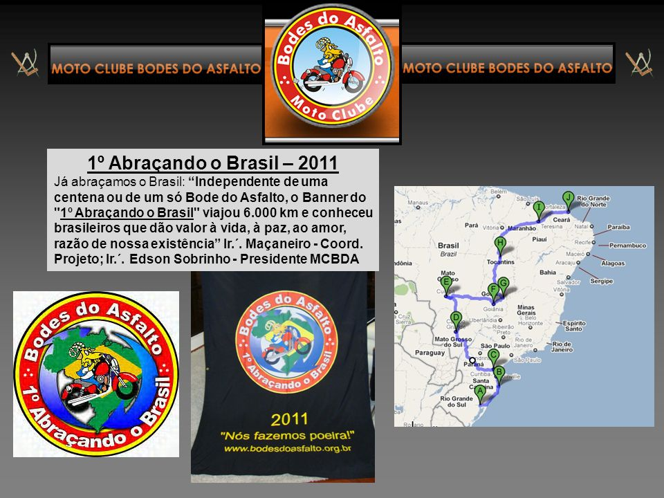 1º Abraçando o Brasil – 2011