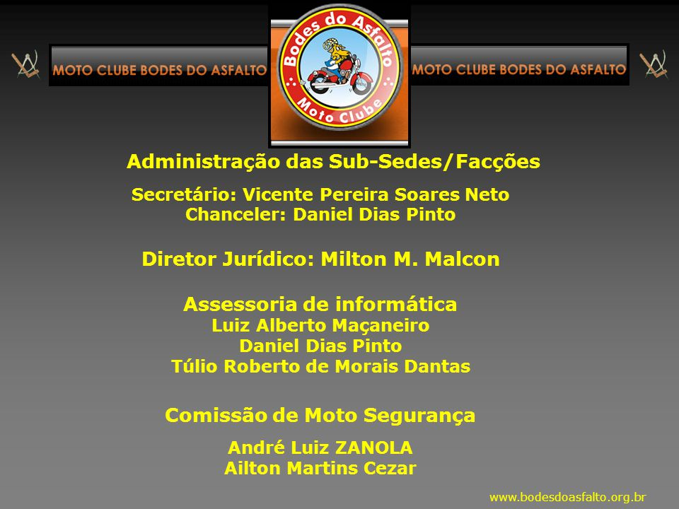 Diretor Jurídico: Milton M. Malcon Assessoria de informática