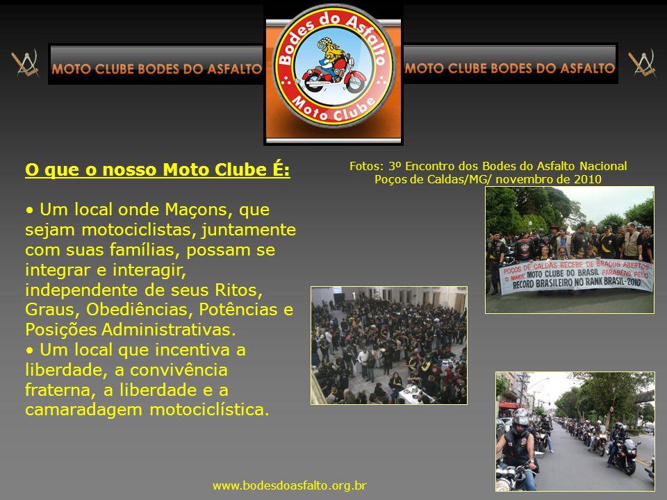 O que o nosso Moto Clube É: