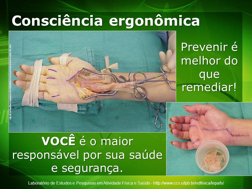 Consciência ergonômica