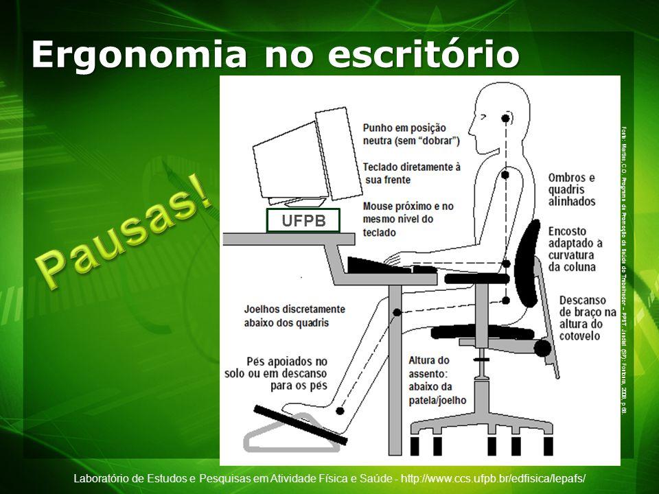 Ergonomia no escritório