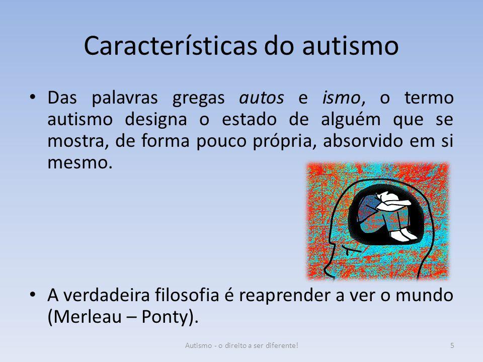 Características do autismo