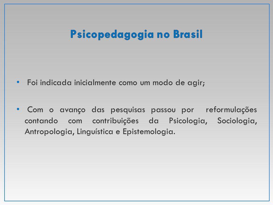 Psicopedagogia no Brasil