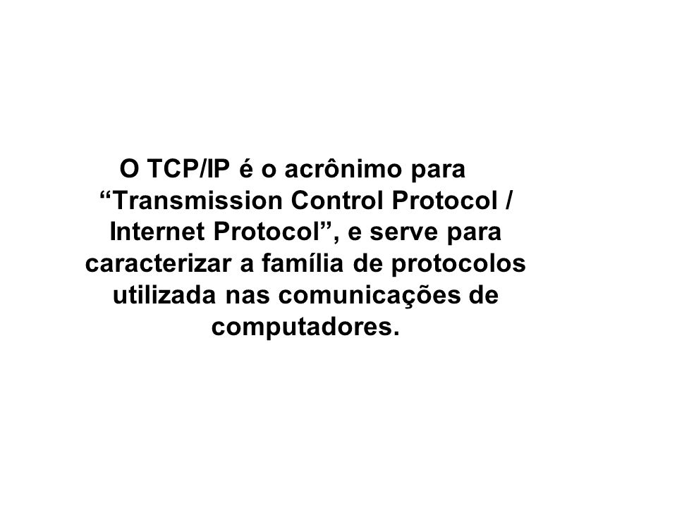 SNMP / TCP/IP