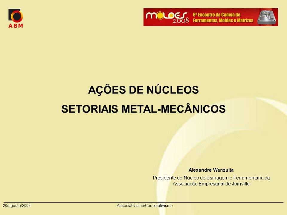 SETORIAIS METAL-MECÂNICOS