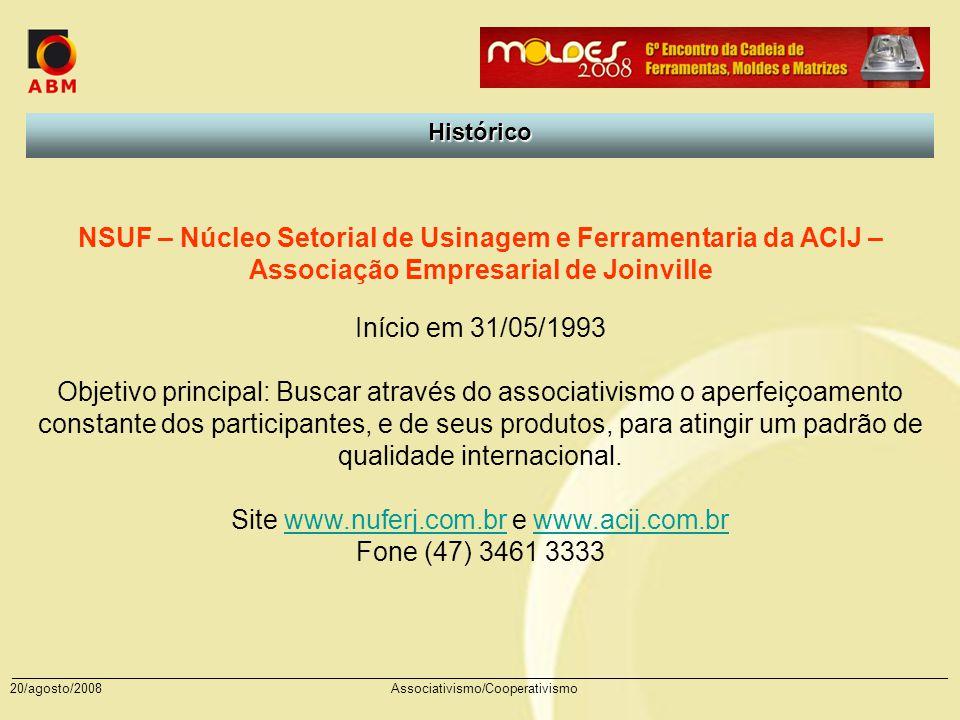 Site www.nuferj.com.br e www.acij.com.br