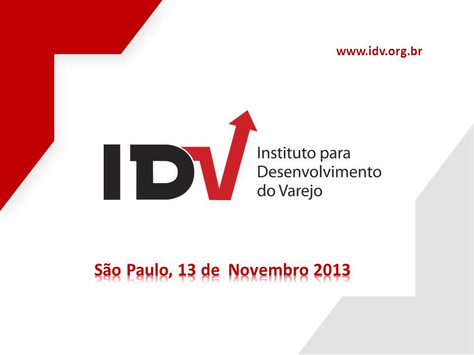 www.idv.org.br São Paulo, 13 de Novembro 2013