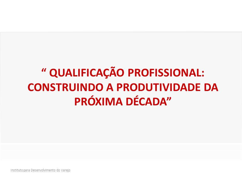 Qualificação profissional: construindo a produtividade da próxima década