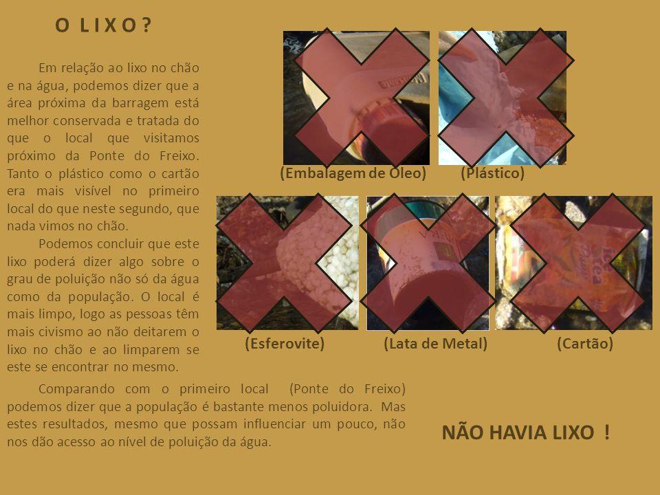 O L I X O NÃO HAVIA LIXO ! (Esferovite) (Lata de Metal) (Cartão)