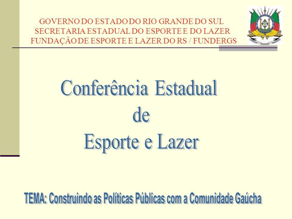 TEMA: Construindo as Políticas Públicas com a Comunidade Gaúcha