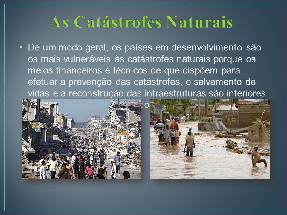 As Catástrofes Naturais