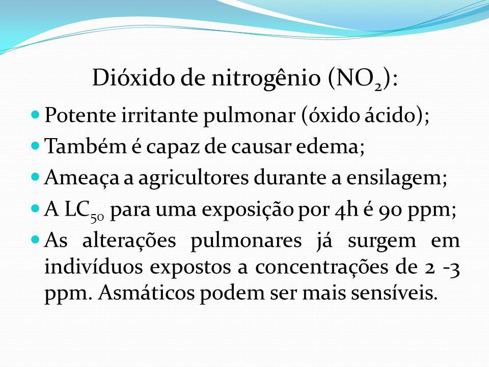 Dióxido de nitrogênio (NO2):
