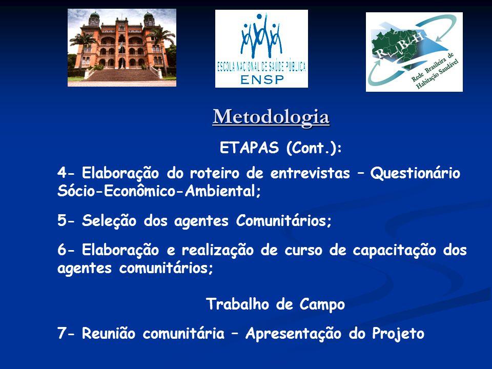 Metodologia ETAPAS (Cont.):