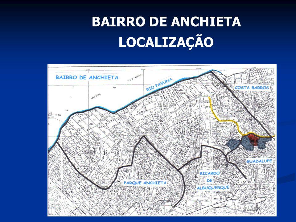 BAIRRO DE ANCHIETA LOCALIZAÇÃO