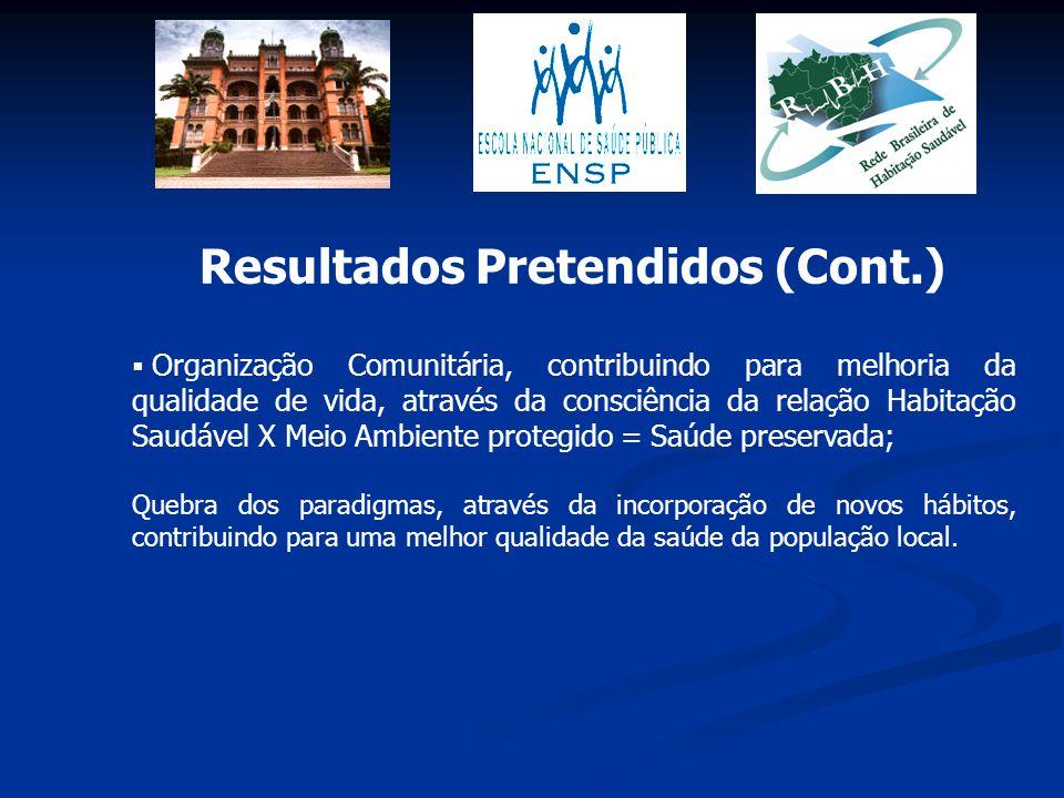 Resultados Pretendidos (Cont.)