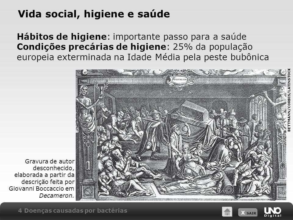 Vida social, higiene e saúde