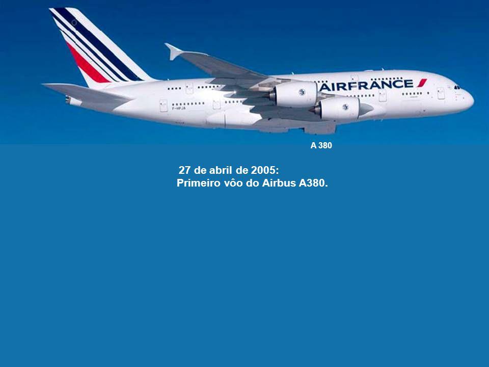 Primeiro vôo do Airbus A380.