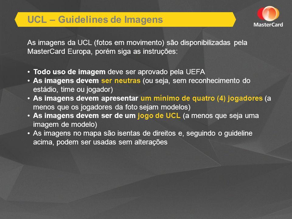 UCL – Guidelines de Imagens