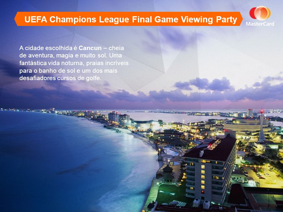 UEFA Champions League Final Game Viewing Party