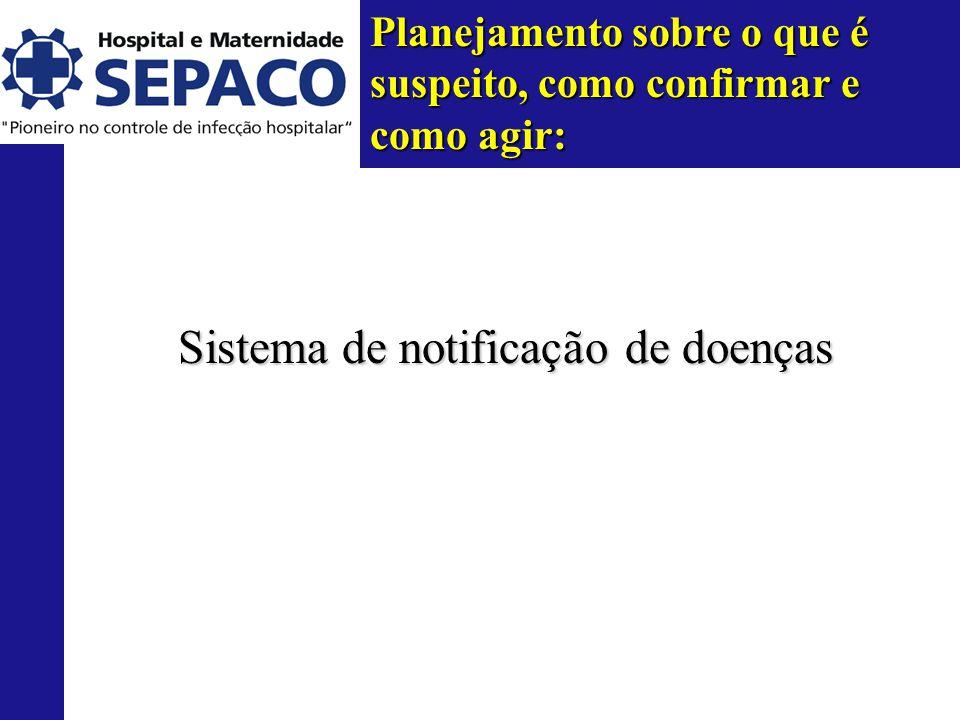 Sistema de notificação de doenças