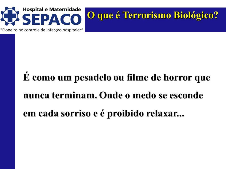 O que é Terrorismo Biológico