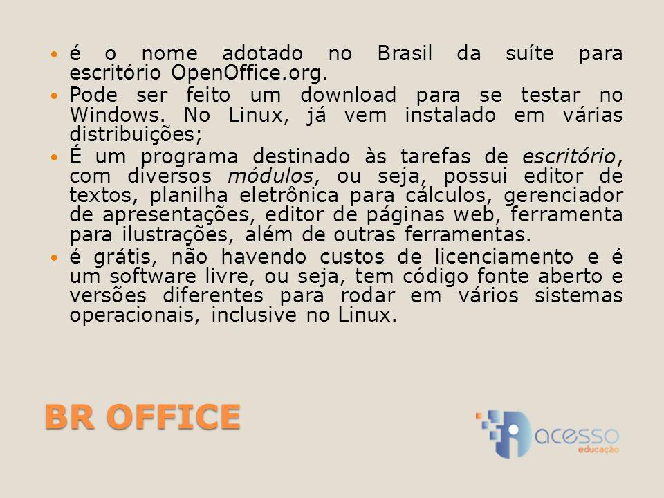 é o nome adotado no Brasil da suíte para escritório OpenOffice.org.
