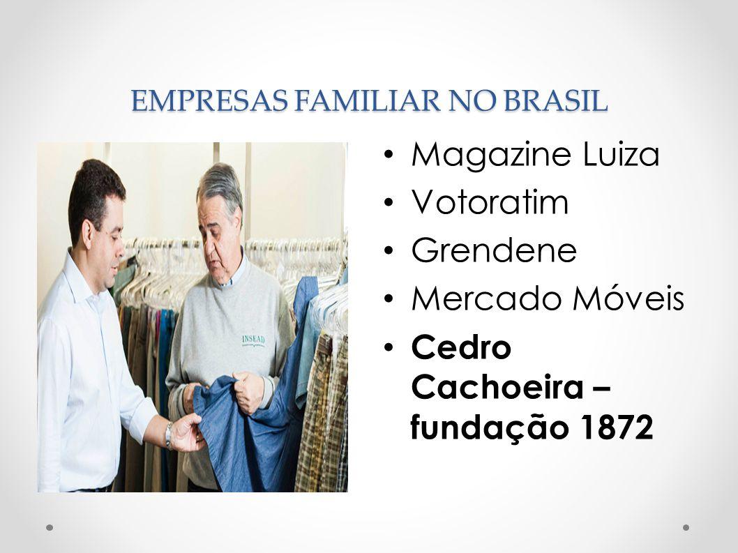 EMPRESAS FAMILIAR NO BRASIL