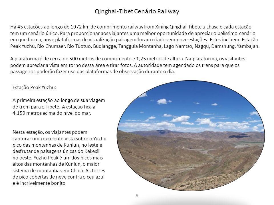 Qinghai-Tibet Cenário Railway