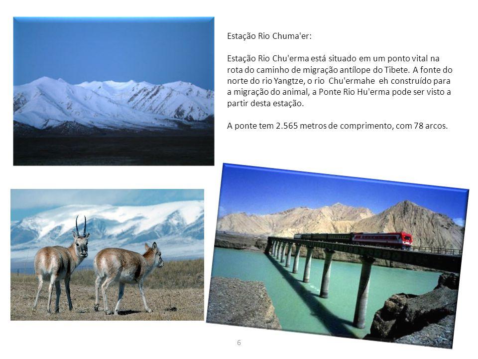 A ponte tem 2.565 metros de comprimento, com 78 arcos.