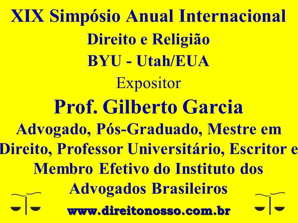 XIX Simpósio Anual Internacional