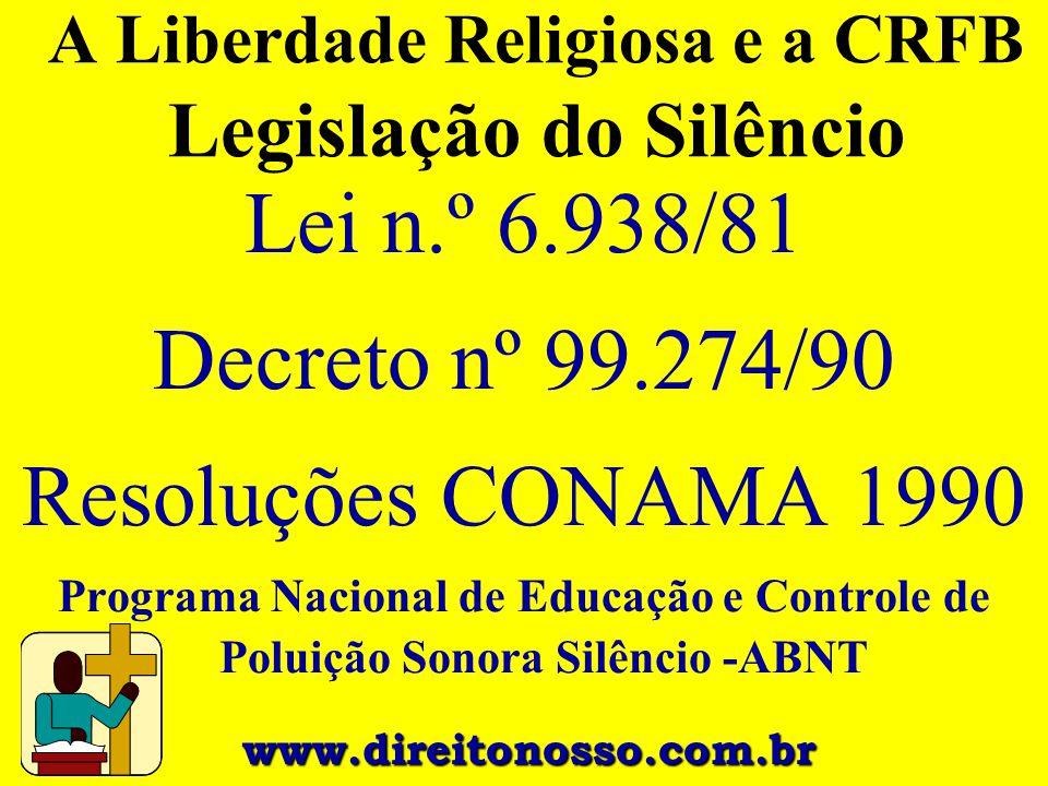 A Liberdade Religiosa e a CRFB Legislação do Silêncio