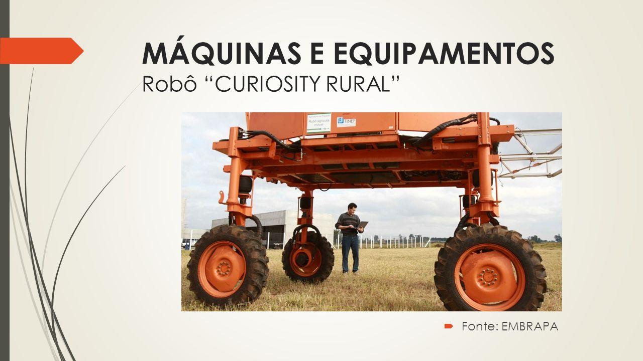 MÁQUINAS E EQUIPAMENTOS Robô CURIOSITY RURAL