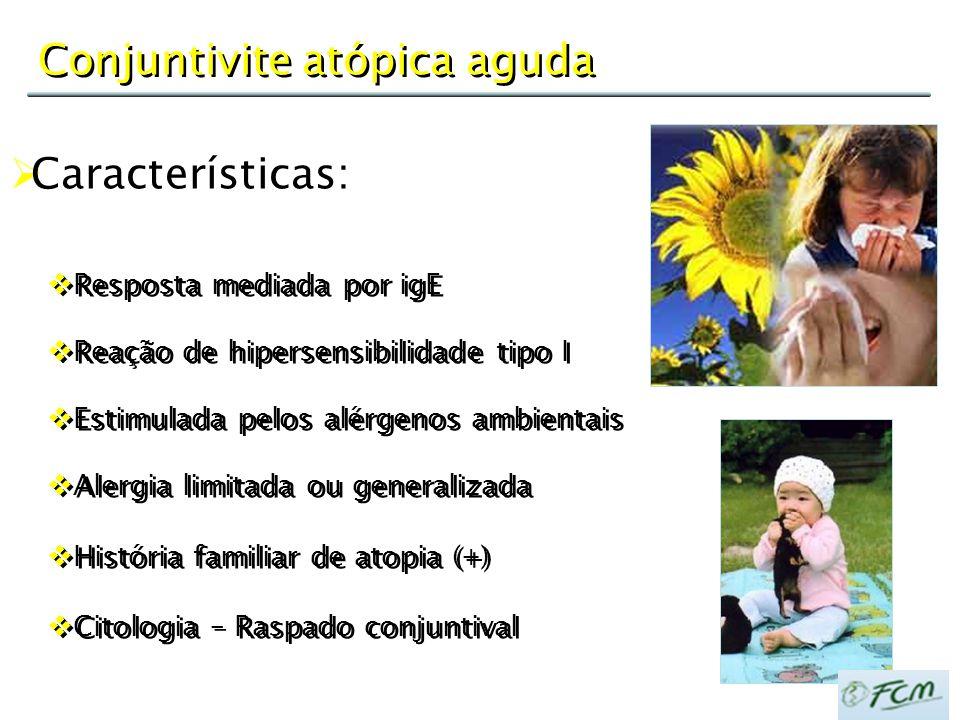 Conjuntivite atópica aguda