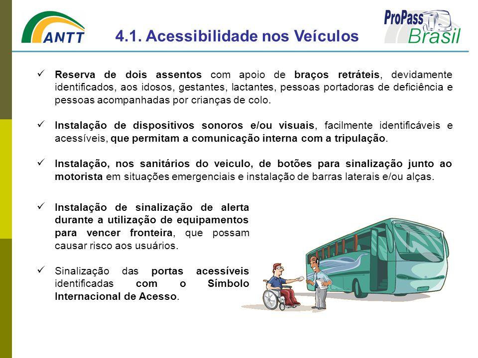 4.1. Acessibilidade nos Veículos