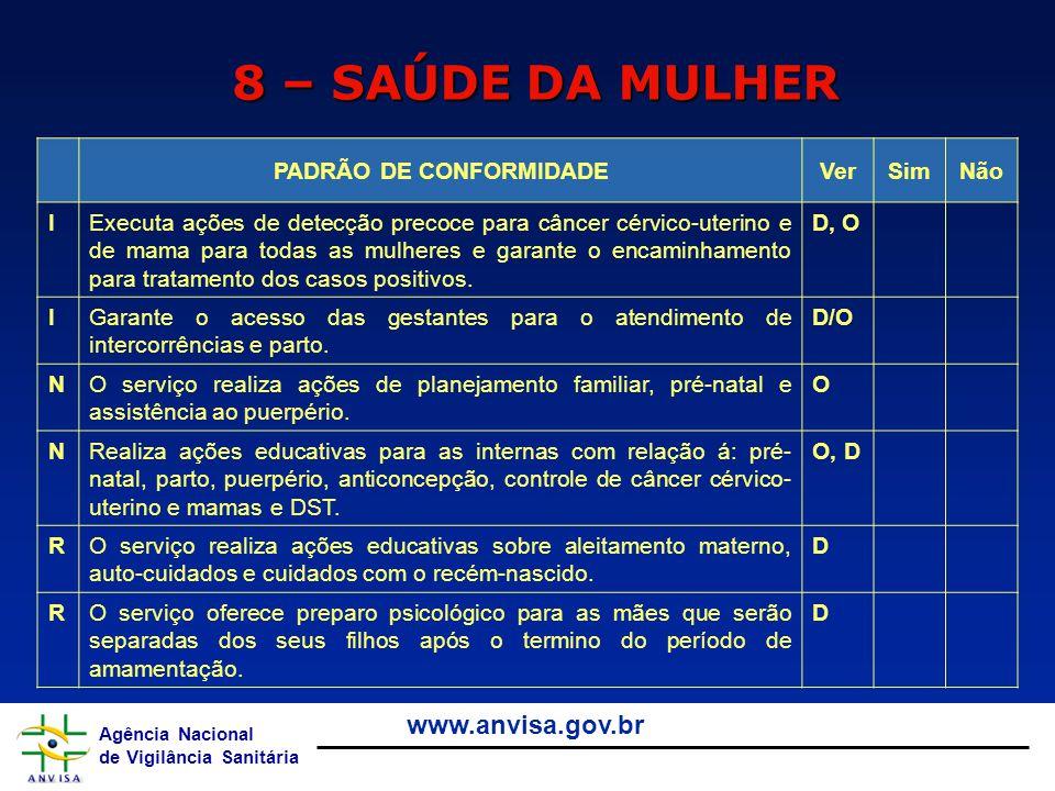 PADRÃO DE CONFORMIDADE