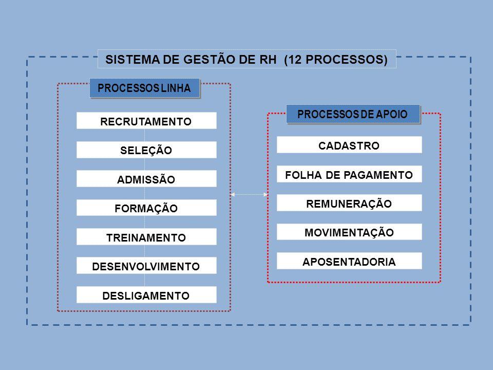 SISTEMA DE GESTÃO DE RH (12 PROCESSOS)