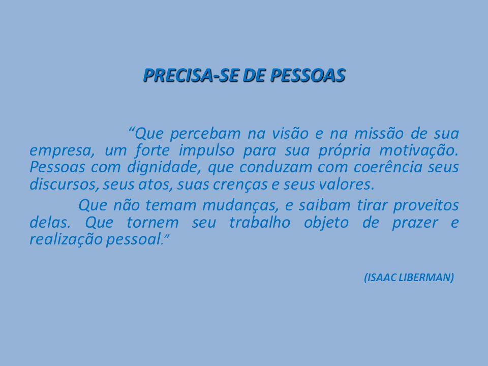 PRECISA-SE DE PESSOAS