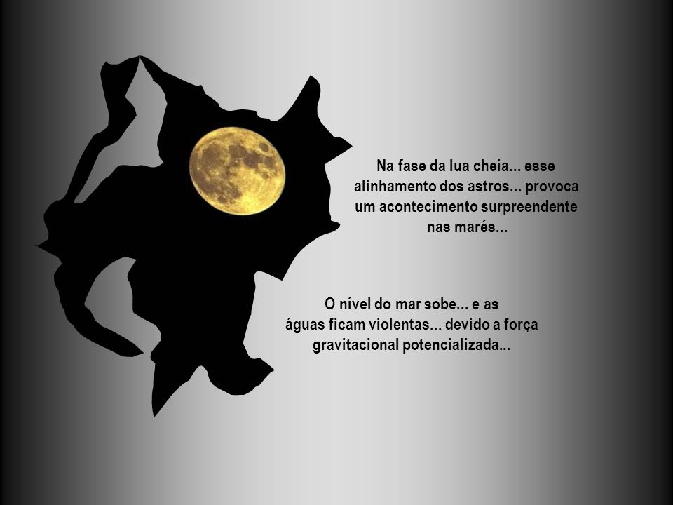 Na fase da lua cheia... esse alinhamento dos astros... provoca