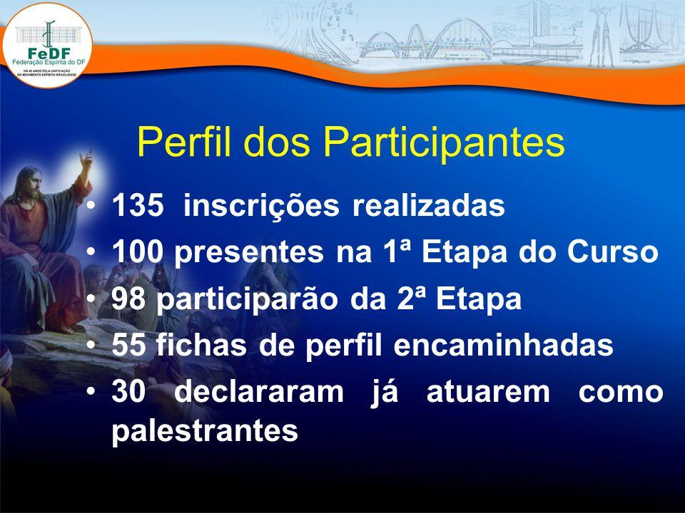 Perfil dos Participantes