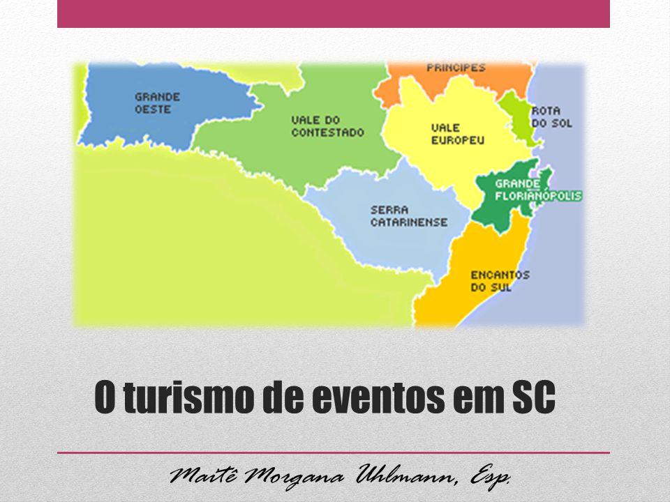 O turismo de eventos em SC