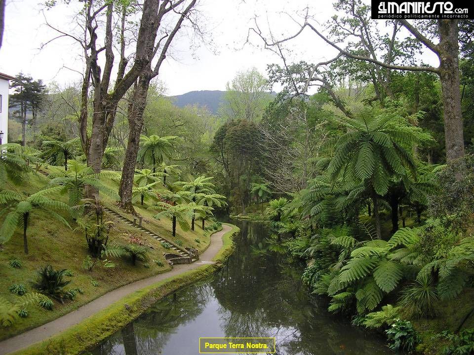 Parque Terra Nostra.