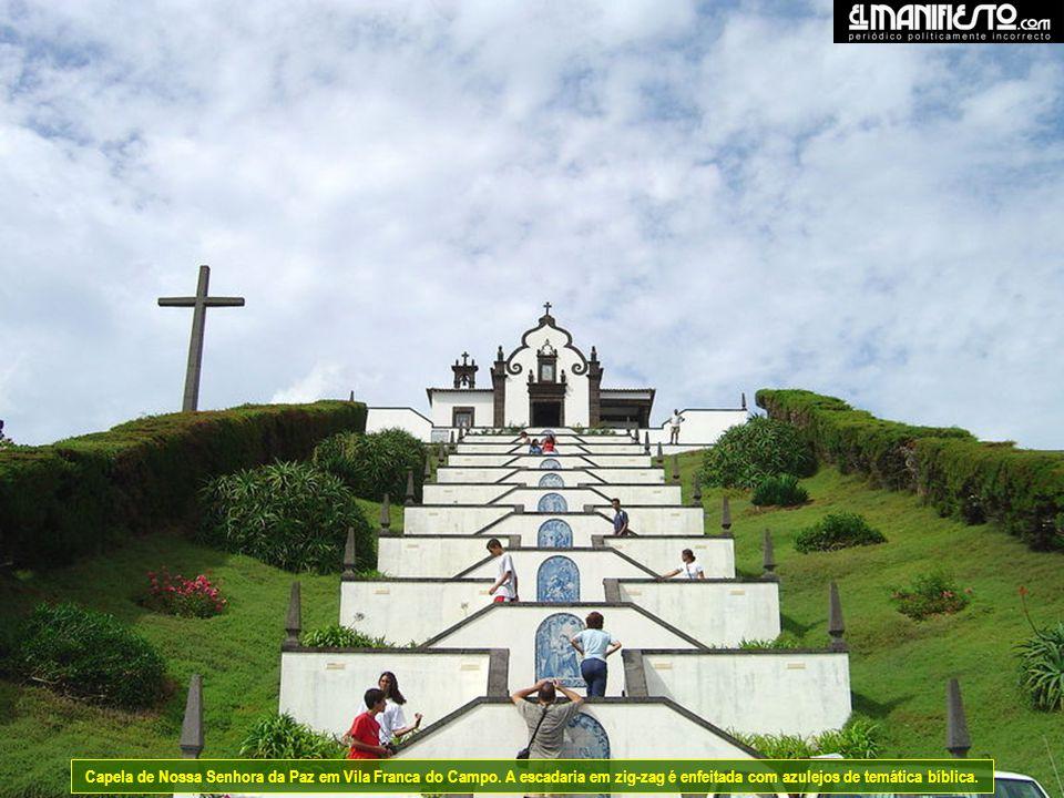 Capela de Nossa Senhora da Paz em Vila Franca do Campo